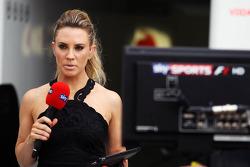 Georgie Thompson, Sky Sports F1 Presenter