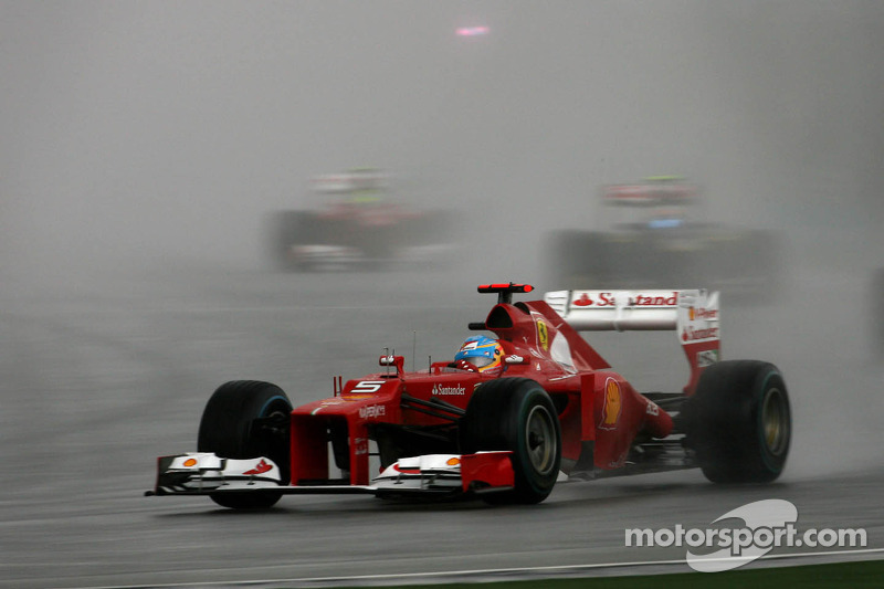 2012 : Fernando Alonso, Ferrari F2012