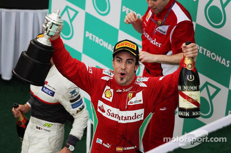 2012. Фернандо Алонсо, Ferrari