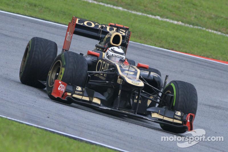 Kimi Raikkonen, Lotus F1 Team (2012)