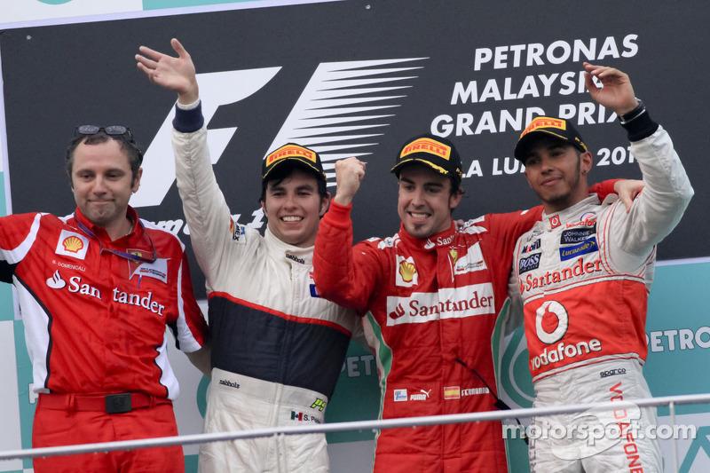 Un primer podio 2012