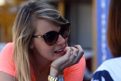 The wife of Yvan Muller, Chevrolet Cruze 1.6T, Chevrolet