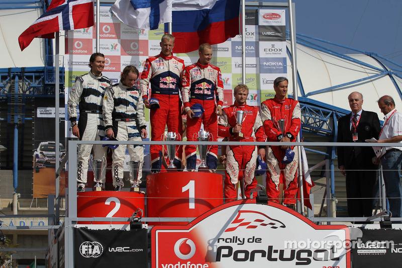 马特·奥斯伯格首个WRC胜利来自时任雪铁龙车手米克·希沃宁的成绩被取消