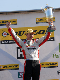 Round 2 Race Winner Matt Neal