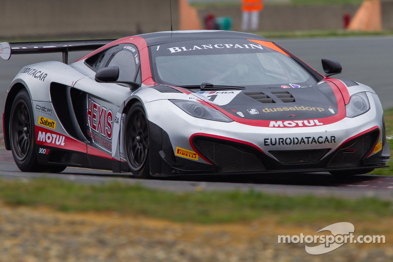 #1 Hexis Racing McLaren GT MP4-12C GT3: Frédéric Makowiecki, Stef Dusseldorp
