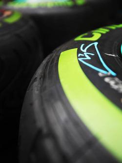 Pirelli tyres for Michael Schumacher, Mercedes AMG F1