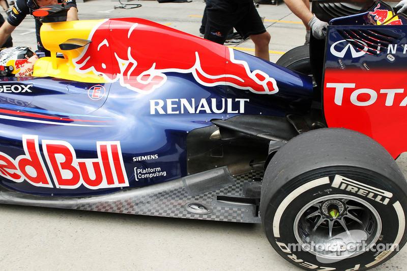 Sebastian Vettel, Red Bull Racing uitlaat