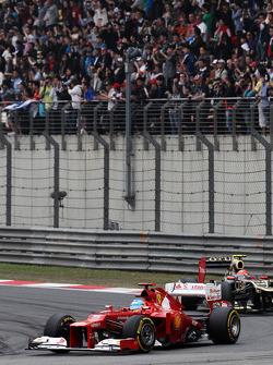 Fernando Alonso, Ferrari voor Romain Grosjean, Lotus F1