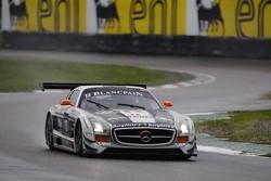 #13 KRK Racing Mercedes-Benz SLS AMG GT3: Koen Wauters, Anthony Kumpen, Karl Wendlinger