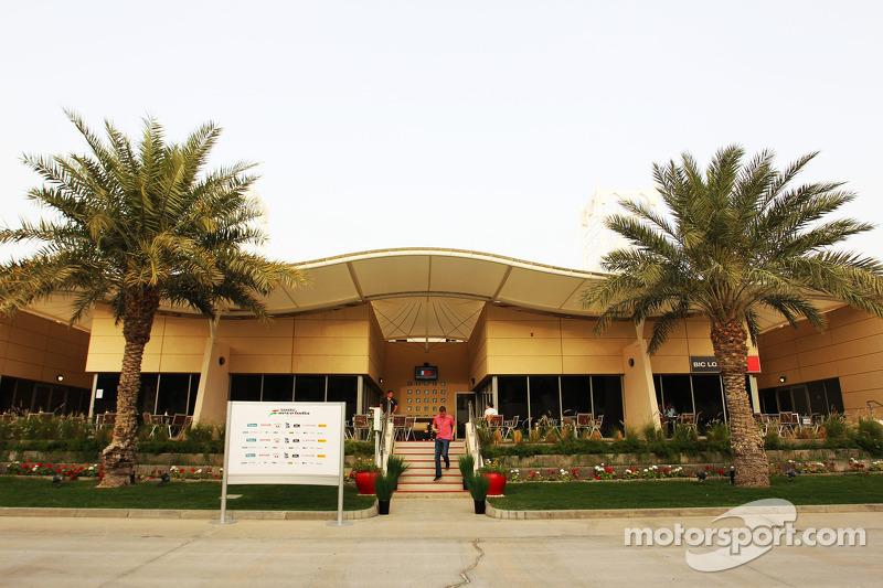 Sahara Force India F1 Team gebouw
