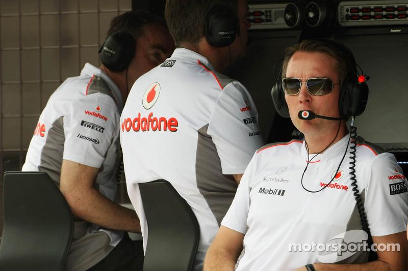 Sam Michael, McLaren Mercedes Sporting Director