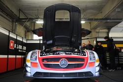 #38 All-Inkl.com Mannich Motorsport Mercedes-Benz SLS AMG GT3: Marc Basseng, Marcus Winkelhock