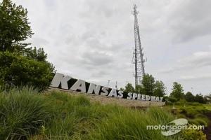 Kansas Speedway sign