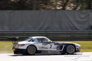 #2 Heico Gravity-Charouz Team Mercedes-Benz SLS AMG GT3: Mika Vahamaki, Max Nilsson