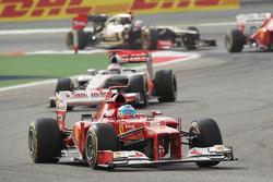 Фернандо Алонсо. ГП Бахрейна, Воскресная гонка.