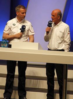 Dr. Wolfgang Ullrich, Audi's Head of Sport Jens Marquardt, BMW Motorsport Director
