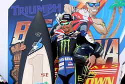 Race winner Josh Hayes