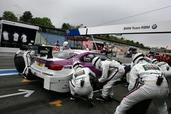 Pitstop Andy Priaulx, BMW Team RBM BMW M3 DTM