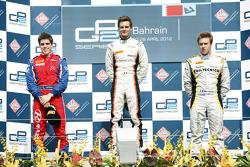 Podium: first place Tom Dillmann, second place Luiz Razia, third place Davide Valsecchi