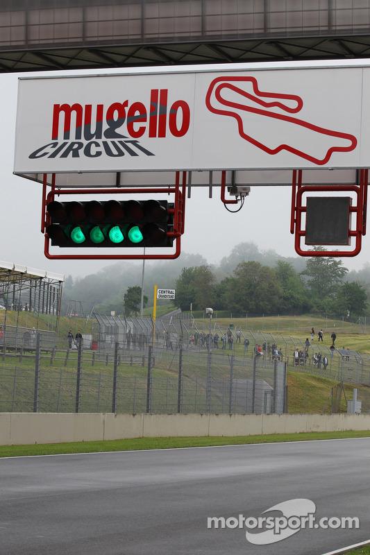 Mugello circuit bord