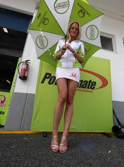 Lovely Pramac girl