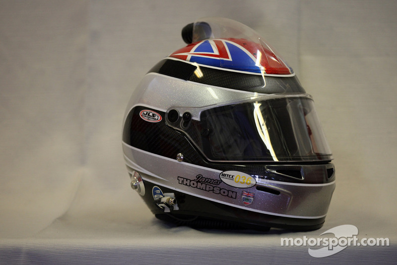 Helm van James Thompson, LADA Granta Sport, LADA Sport