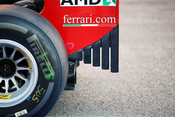 Ferrari rear wing