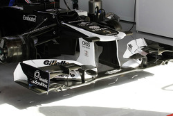Williams FW34 front wing