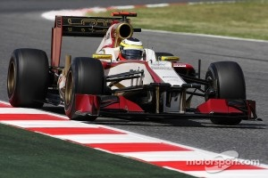 Pedro De La Rosa, HRT Formula 1 Team
