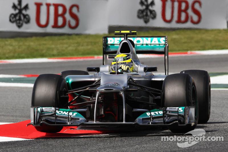 Нико Росберг еще даже не помышлял о доминировании Mercedes