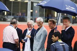 Nigel Mansell, Riccardo Patrese, Keke Rosberg, Damon Hill, Nico Rosberg, Karun Chandhok, David Coulthard