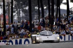 Йохен Масс, Мануэль Ройтер и Стенли Дикенс, Sauber C9-Mercedes-Benz
