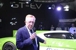 Don Panoz, Panoz Racing GT-EV'i tanıtıyor