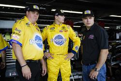 Todd Gilliland, Kyle Busch Motorsports Toyota, Kevin Manion, and David Gilliland