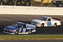 Austin Cindric, Brad Keselowski Racing Ford and Camden Murphy, Chase & Hamlyn, Inc. Chevrolet Silverado