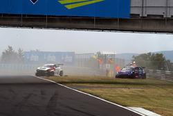 Crash, Giacomo Altoè, West Coast Racing, Volkswagen Golf GTi TCR, Davit Kajaia, GE-Force, Alfa Romeo Giulietta TCR