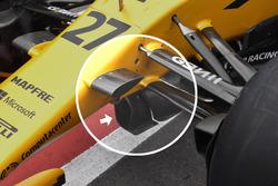 Renault Sport F1 Team RS17: Luftleitbleche