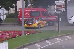 Tom Coronel belecsúszott egy tűzoltóautóba az első edzésen - Circuito Internacional de Vila Real