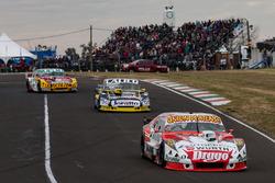 Sergio Alaux, Donto Racing Chevrolet, Emanuel Moriatis, Martinez Competicion Ford, Nicolas Bonelli, Bonelli Competicion Ford