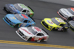 Cole Custer, Stewart-Haas Racing Ford Casey Mears, Biagi-DenBeste Racing Ford Erik Jones, Joe Gibbs Racing Toyota
