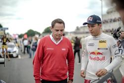 Руководитель Audi Sport Team Abt-Sportsline Ханс-Юрген Абт и гонщик команды Маттиас Экстрём
