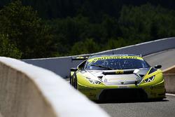 #77 Barwell Motorsport Lamborghini Huracan GT3: Adrian Amstutz, Patrick Kujala