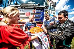 #311 TATRA BUGGYRA Racing: Martin Kolomy, Jiri Stross, Michal Ernst and Dariusz Rodewald, Team De Rooy