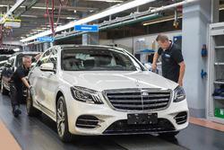 Mercedes-Benz S-osztály gyártás