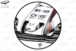 Williams FW40 oude neus