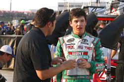 Harrison Burton, Kyle Busch Motorsports Toyota and David Stremme