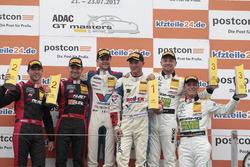 Podium: racewinnaars #77 Callaway Competition, Corvette C7 GT3-R: Jules Gounon, Renger van der Zande, 2. #3 Aust Motorsport, Audi R8 LMS: Markus Pommer, Kelvin van der Linde, 3. #48 Mercedes-AMG Team HTP Motorsport, Mercedes-AMG GT3: Indy Dontje, Marvin Kirchhöfer