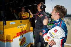 Marco Andretti, Andretti Autosport Chevrolet with Michael Andretti