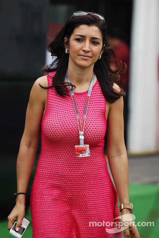 Prime Motor Group >> Fabiana Flosi, fiance of Bernie Ecclestone, CEO Formula One Group at Spanish GP