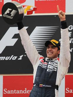 1st place Pastor Maldonado, Williams F1 Team